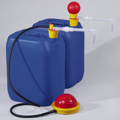 Foot Pump - Stopper Size 30-70 mm