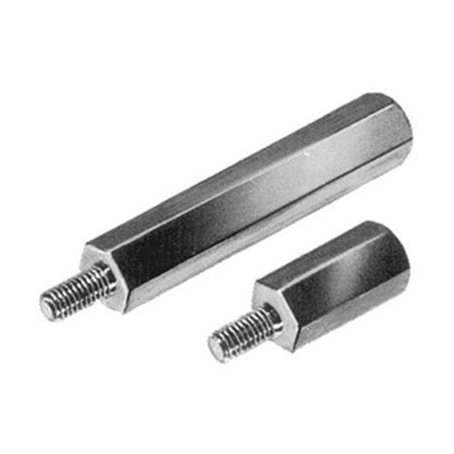 Spacer Standoff made of Steel - hexagonal, internal / external thread (M3 - M6)