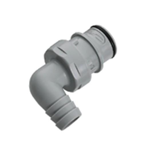 PP-Winkel-Schnellverschluss-Stecker, NW 9,5 mm