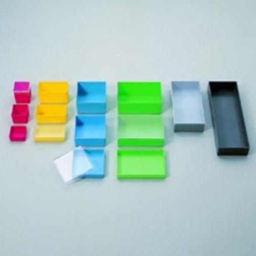 RCT®-Zubehör: Deckel aus PS für Einsatzboxen - transparent