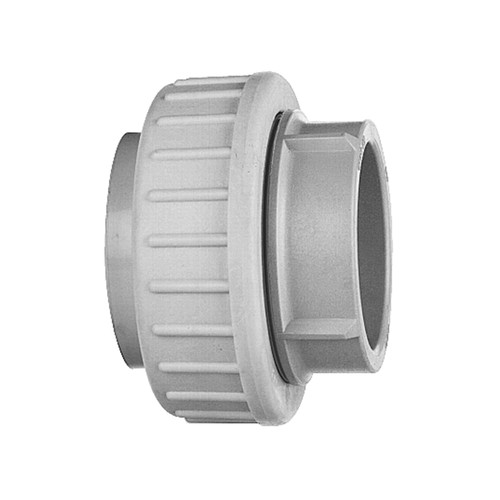 Gerader-Verbinder mit Schweißmuffe aus PP - lösbar