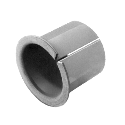 Plain Bearing Bush - slotted, without any lubrication, with flange