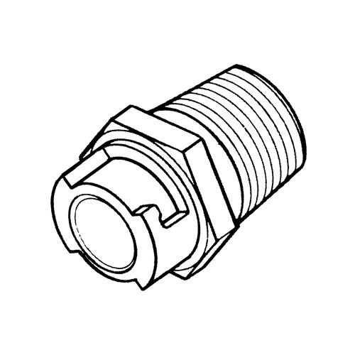 POM-Schnellverschlusskupplung, NW 1,6 mm