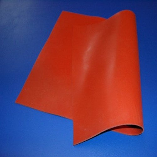 Silicone Sheet with Glass Fabric Insert - Shore 60°