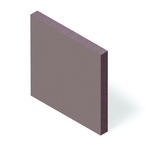 Soft-Silicone Film, Thermally Conductive (2,5 W/mK) - self-adhesive on both sides, brown