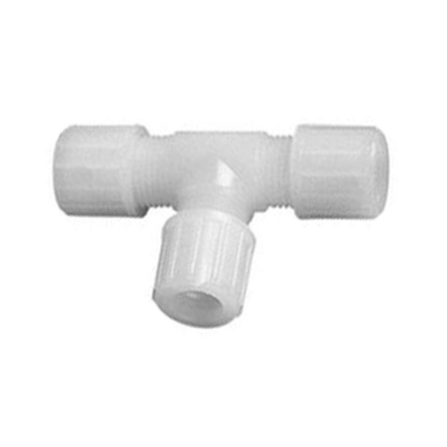 Micro T-Shaped Connector made of PTFE