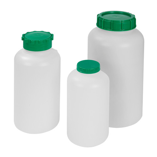 Wide-Mouth Safety Bottle made of HDPE