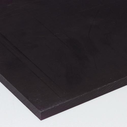 Plate made of HDPE