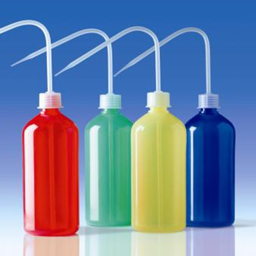 Wash Bottle made of LDPE - coloured