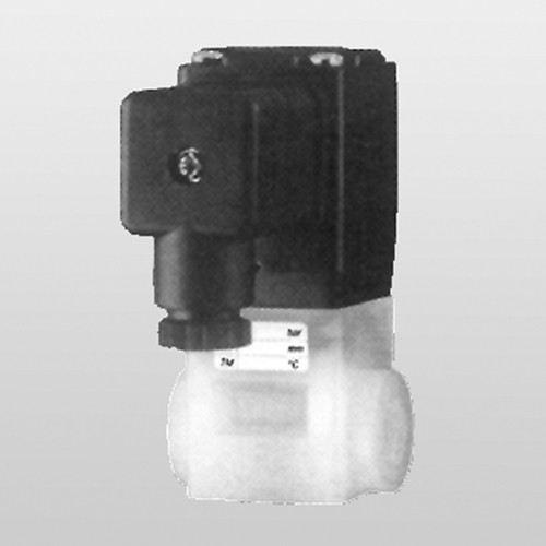 2/2-Way Solenoid Valves made of PVDF for Critical Media