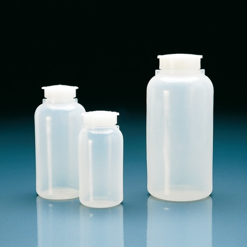 Wide-Mouth Safety Bottle made of LDPE - with internal seal