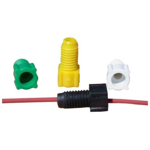 Gerader-Kapillar-Verbinder mit Außengewinde aus PP