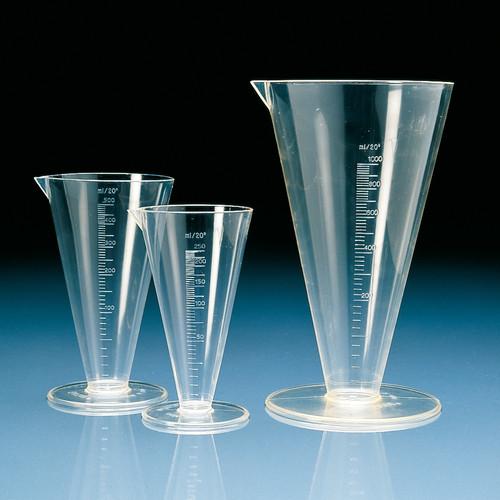 Tapered Measuring Beaker made of TPX