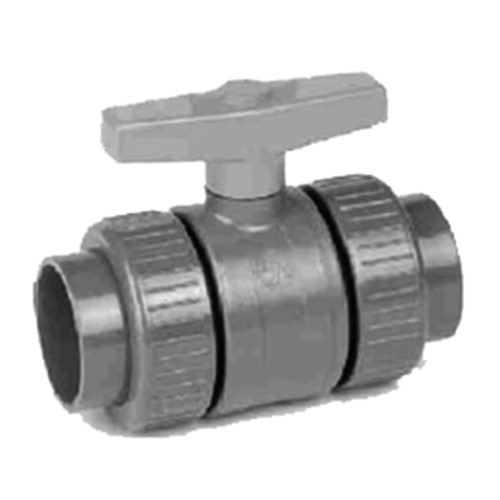 Industrial Compact Ball Valve made of PVC-U