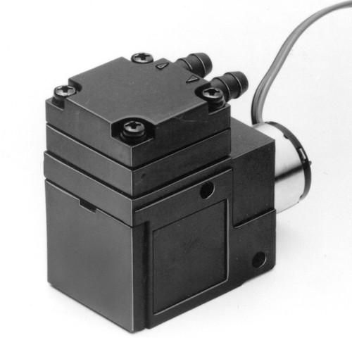 Mikro-Membran-Förderpumpe für Gase bis 0,85 l/min. mit Niederspannungsantrieb