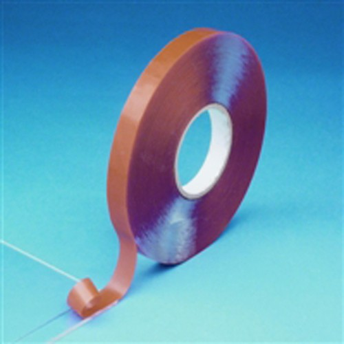 High-Power Adhesive Tape made of PET up to +90 °C - double-coated, thickness: 0.5 mm