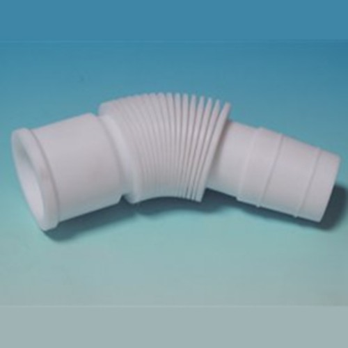 High-Tech Corrugated Bellows Standard Ground Joint Extension Piece made of PTFE