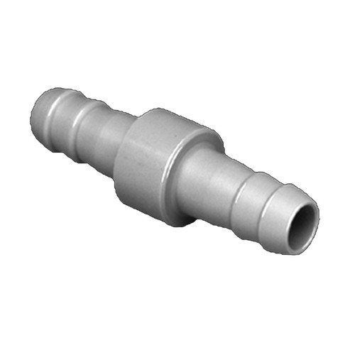 Straight Barb Union made of PP, PVDF or PTFE