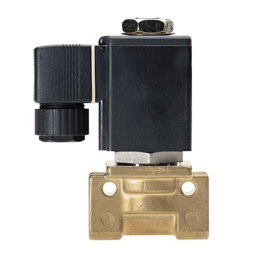 High-Tech 2/2-Way High-Temperature Solenoid Valve made of Stainless Steel