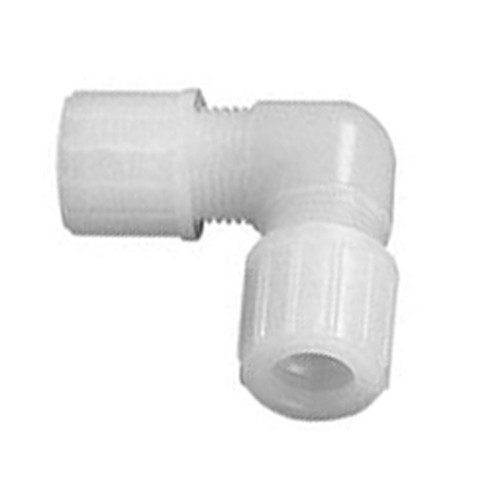 High-Pure Elbow Connector made of PFA