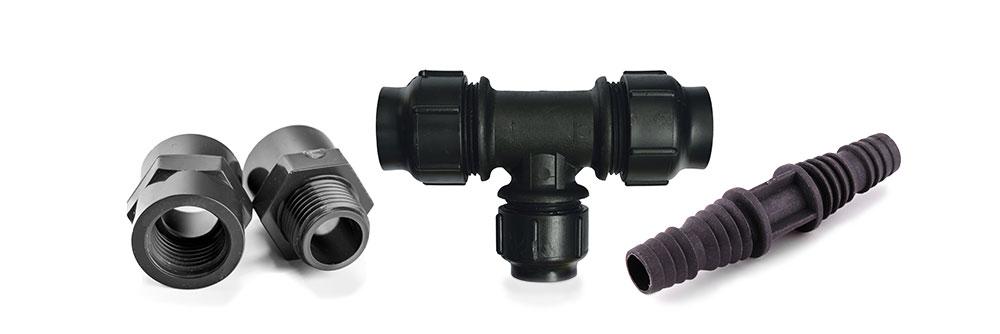 Kunststoff HDPE T-Schlauchverbinder 4 mm natur 1//8 Zoll