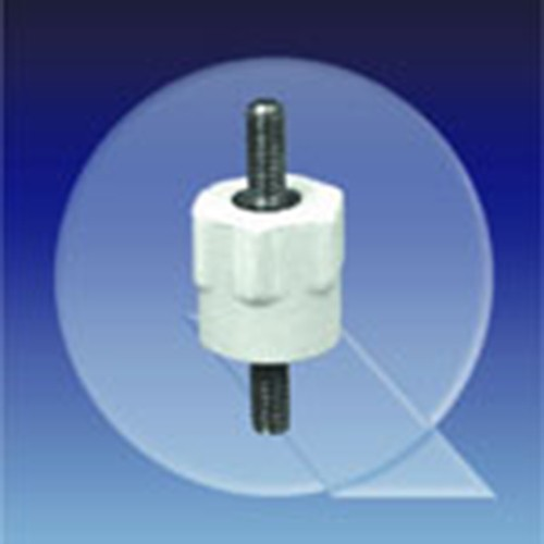 Insulating Spacer made of PEs - hexagonal, external thread