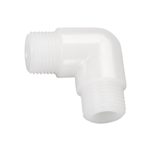 Elbow Double Nipple made of PP, PVDF or PFA