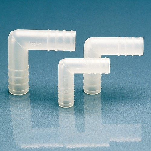 Winkel-Schlauchtülle aus PP oder PVDF