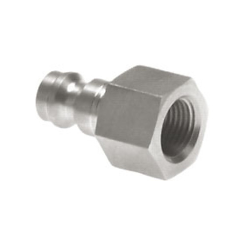 Quick-Disconnect Nipple made of Stainless Steel, NW 2.7 mm - shutting-off on one side