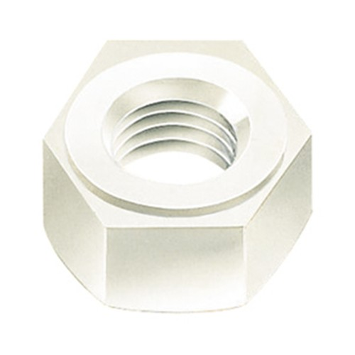 Hex Nut (DIN 555) made of PVDF