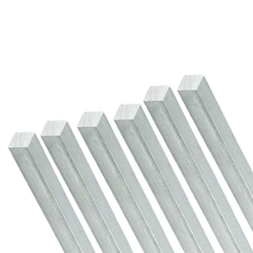 Vierkantstab aus Aluminium