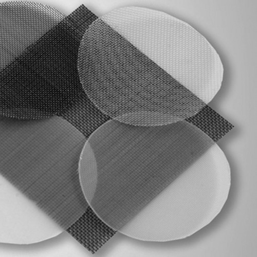 Screen Cloth made of PA 6.6 (polyamide 6.6, nylon) - round blank
