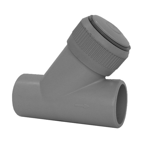 Check Valve (Angle Seat) made of PP with Spigot
