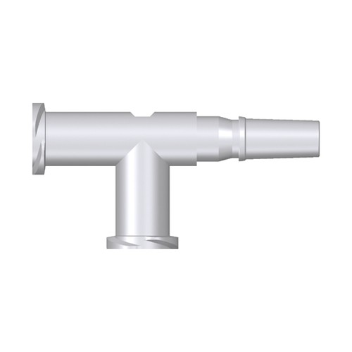 Luer T-Shaped Coupling Piece (Female/Male/Female)