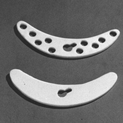 """Stirrer Blades made of PTFE - """"banana-shaped"""""""