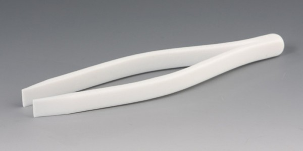 Tweezers made of PTFE - with blunt ends