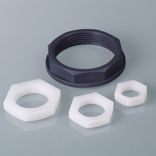 Hex Nut made of HDPE - inch
