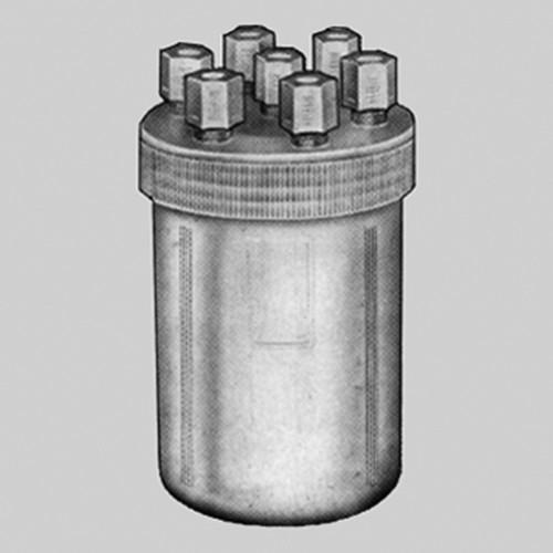 Transfer-Reaktionsbehälter aus PFA für Flüssigkeiten - groß