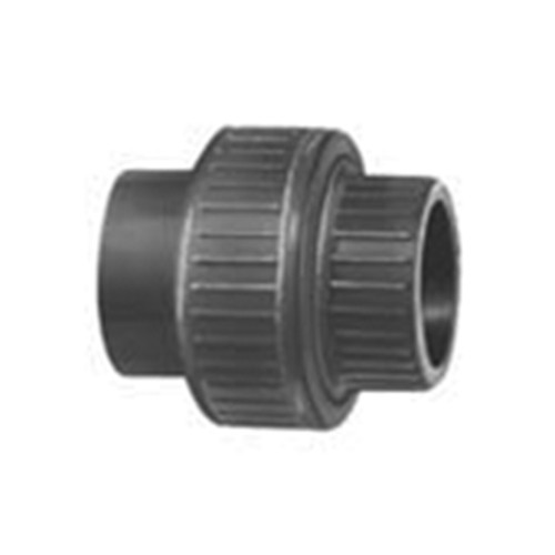 Straight Connector with Bonded Socket Joints made of PVC-U - detachable