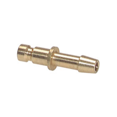 Quick-Disconnect Nipple made of Nickel-Plated Brass, NW 5 mm - shutting-off on one side
