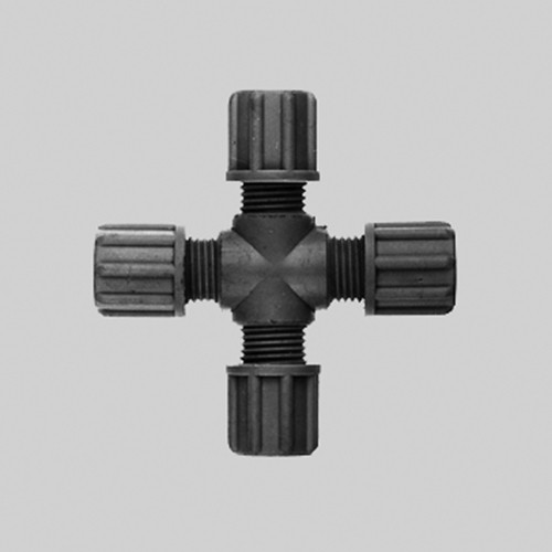 Cross Connector made of PP or PVDF