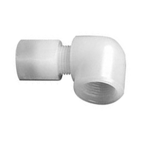 High-Pure Elbow Pipe Connector with Female Thread made of PFA