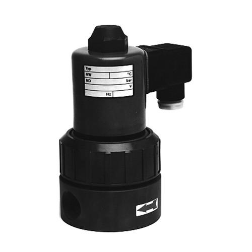 2/2-Wege-Magnetventil aus PVC-U - direktgesteuert