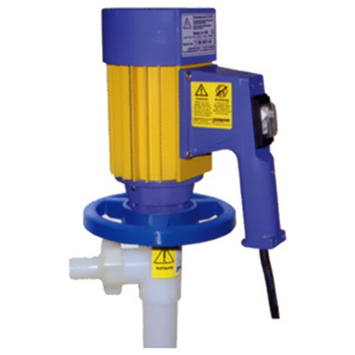 Sealless Drum Pump with Speed-Controlled 230 V Electric Drive