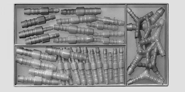 """Schlauchverbinder-Sortiment """"Betrieb"""" aus POM - 71-teilig"""