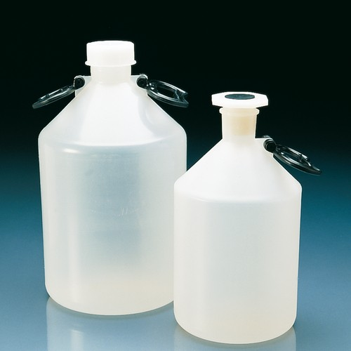 Narrow-Neck Conical Shoulder Bottle made of PP - with screw closure