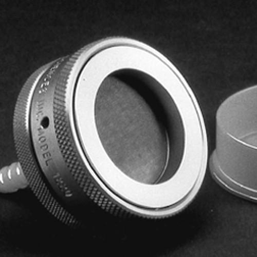 Filterhalter aus Aluminium - Offen