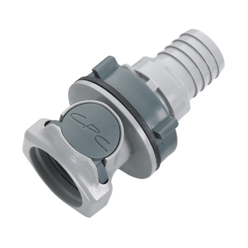 PP Quick-Disconnect Coupling, NW 12.7 mm - Control Panel