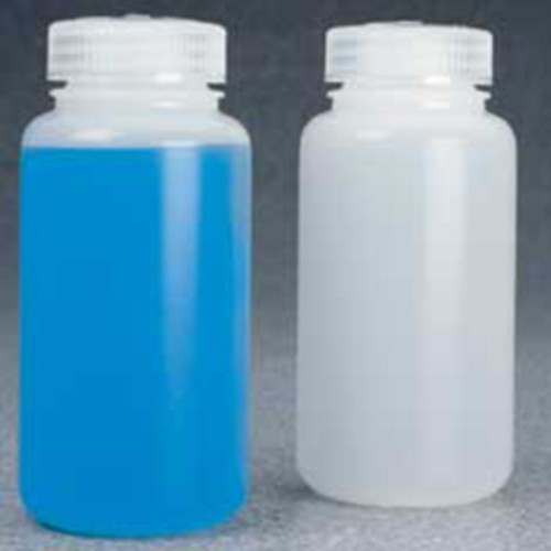 Centrifuge Bottle made of HDPE - with cap and flat bottom