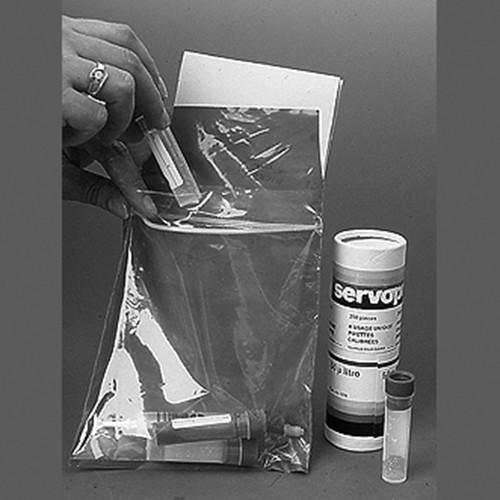 Probenbeutel aus LDPE mit Doppelkammer